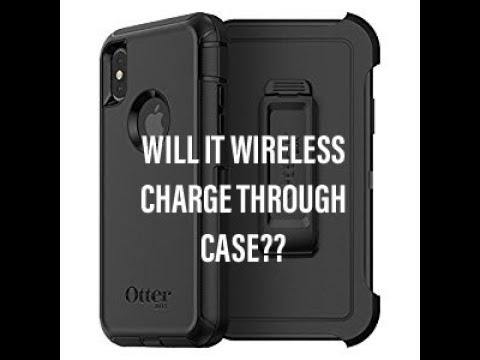 promo code 6d61c 65771 DOES THE iPHONE X/8 WIRELESS CHARGE IN AN OTTER BOX DEFENDER CASE?