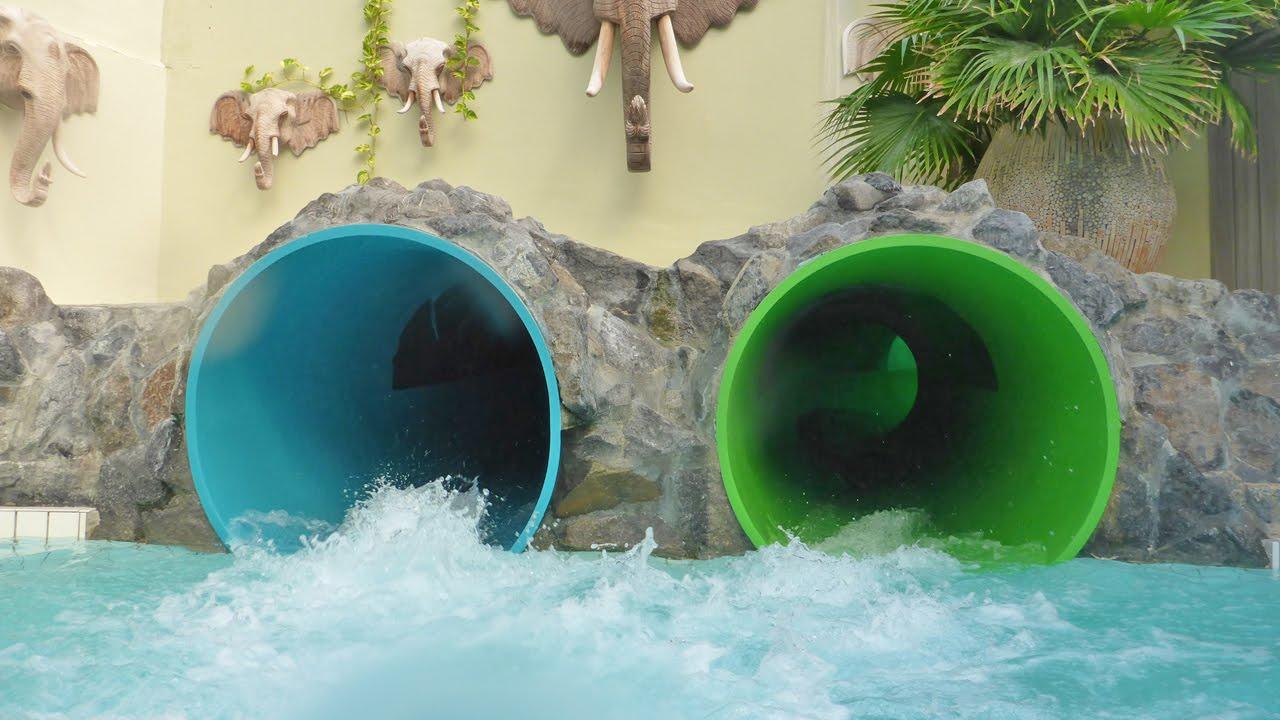 Sunparks de haan black hole donkere glijbaan onride for Sunpark piscine