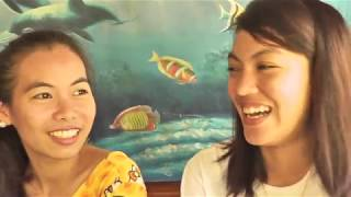 3 Gorgeous Filipinas talking dating (Philippines 2018) !