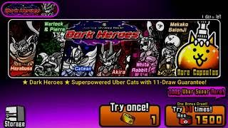 The Battle Cats - Dark Heroes Guaranteed Spin