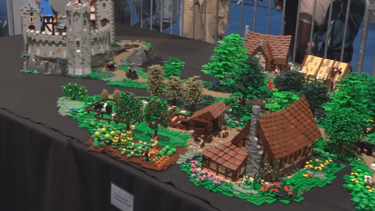 Bird Flight Lego Medieval Castle Layout Lowlug Legoworld