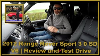 Review and Virtual Video Test Drive In Our 2012 Range Rover Sport 3 0 SD V6 sorry about the audio