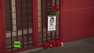 España: Multitudinario adiós al fallecido futbolista José Antonio Reyes en el Sánchez-Pizjuán