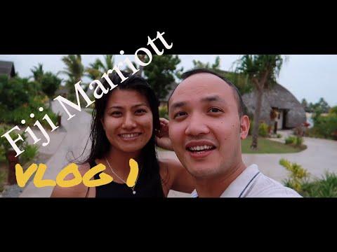 Fiji Marriott Resort Momi Bay Vlog Part 1