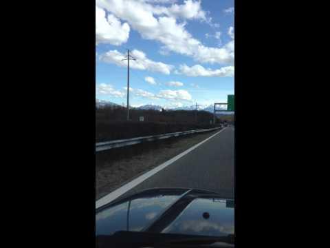 Mont-Blanc Sur L'Auto Route Suisse A1
