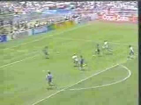 Soccer-world cup 1986 by Diego Maradona(Argentina vs England