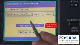 configuracin ip bizhub 200 250 350 222 282 362 dialta 2010 2510 3010 3510