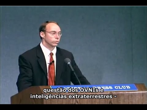 Steven Greer no National Press Club - Conferência 2001 (Legendas PT)