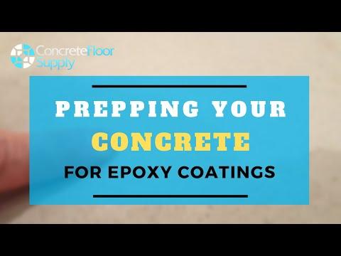 How to Prepare Concrete Floor
