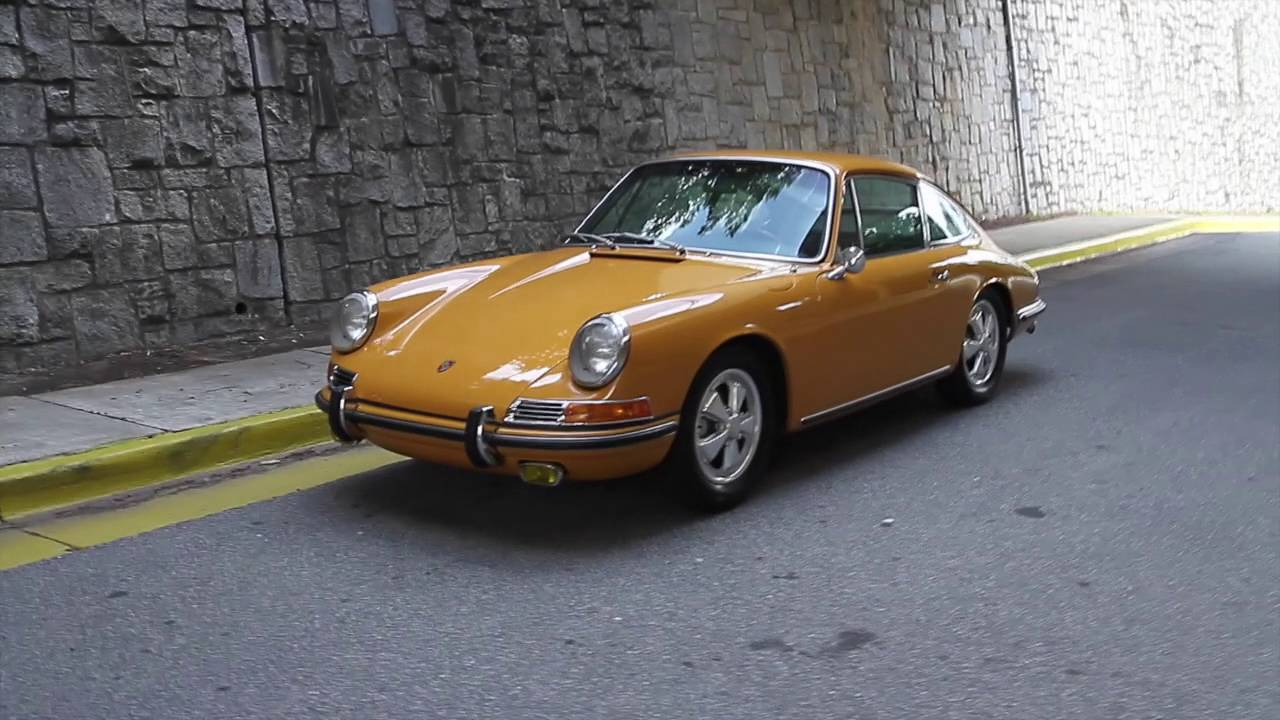 1967 Porsche 911S coupe for sale - YouTube