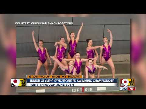 U.S. Junior Olympics Synchronized Swimming Championship Now Underway