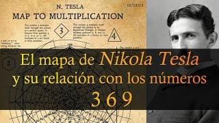 El MAPA de Nikola Tesla y su relación con los números 3 6 9