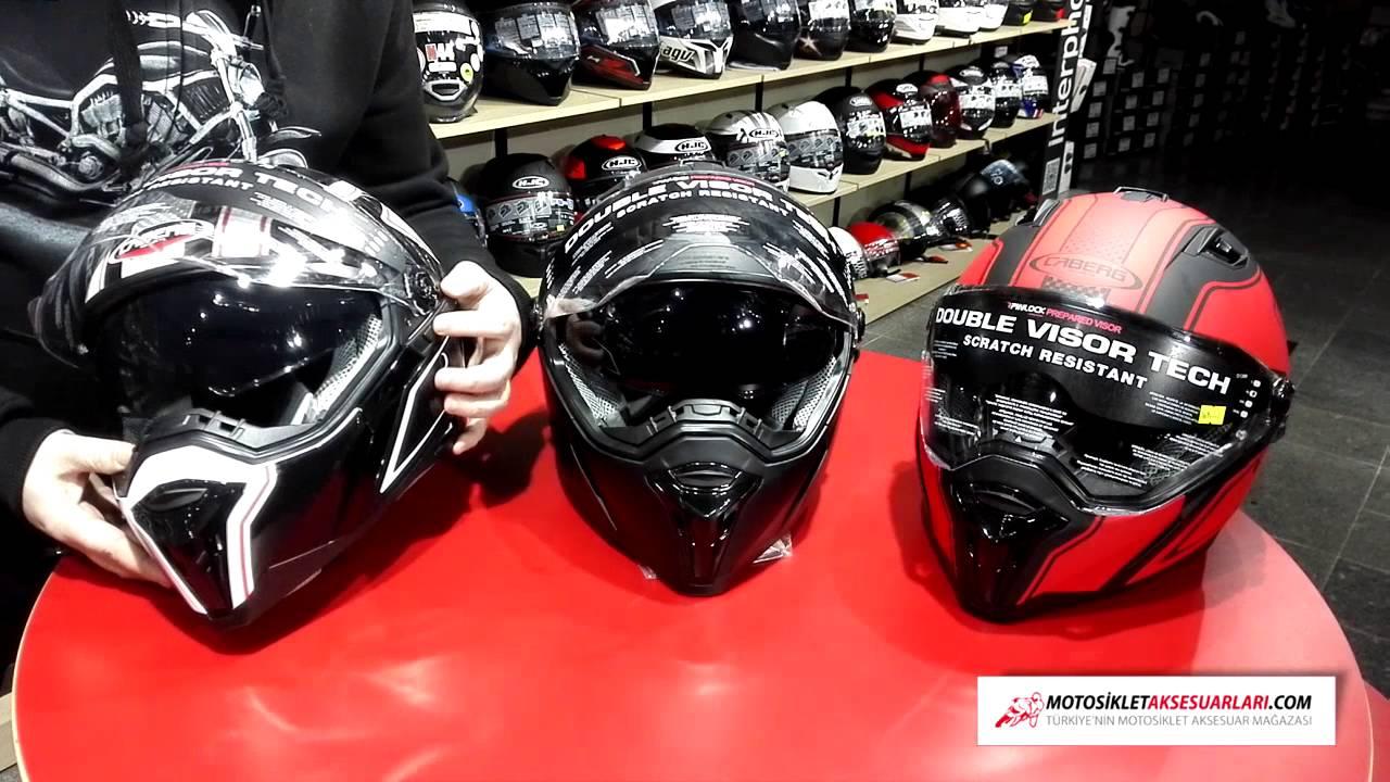 Caberg Stunt Kasklar Nasıl, Özellikleri Hakkında Yorumlar  MotosikletAksesuarlari com 'da