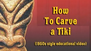How to Carve a Tiki With Master Carver Crazy Al Evans