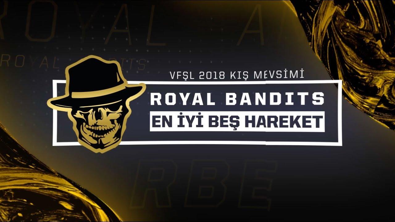 Royal Bandits Kış Mevsimi | En İyi 5 Hareket Videosu