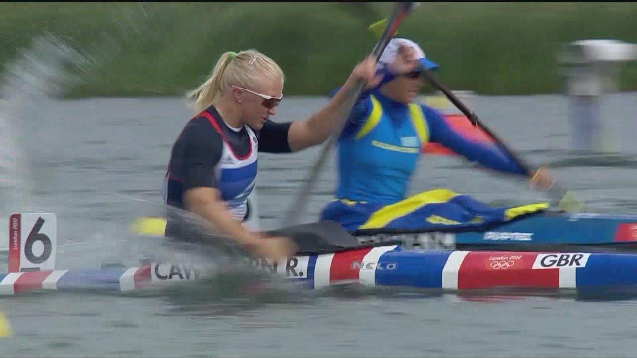 Women's Kayak Single 500m - Heats | London 2012 Olympics