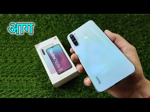 Xiaomi REDMI NOTE 8 Moonlight White | UNBOXING & REVIEW | Camera Test | Best SMARTPHONE Under 10000