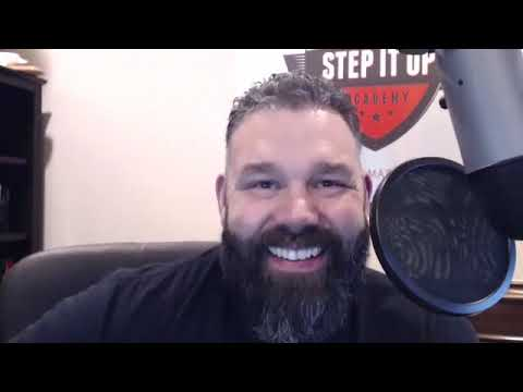 Tomas Kennan; Business and Success Coach, Bestselling Author, Host of Step it Up Podcast.