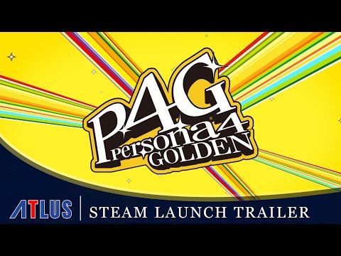 Persona 4 Golden - Steam Launch Trailer | PC