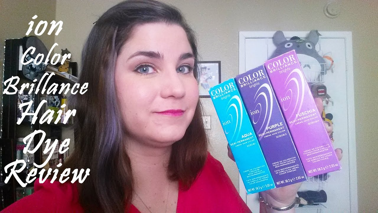 ion Color Brilliance Hair Dye Review - YouTube