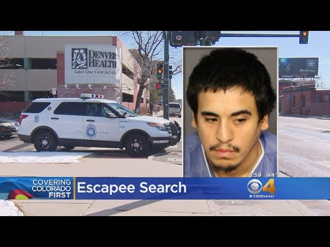 Search For Dangerous Escapee With Lengthy Criminal Past
