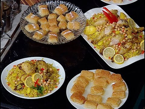 الهريسه الدمياطي وارز قدره بالدجاج من الشيف محمد فوزى حلقه مطبخ الراعي