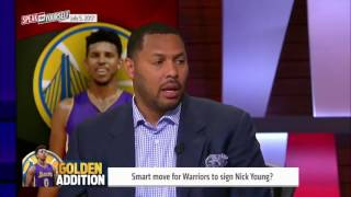Smart move for Warriors to sign Nick Young   Speak For Yourself