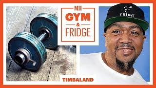 Timbaland Shows His Home Gym & Fridge | Gym & Fridge | Men's Health