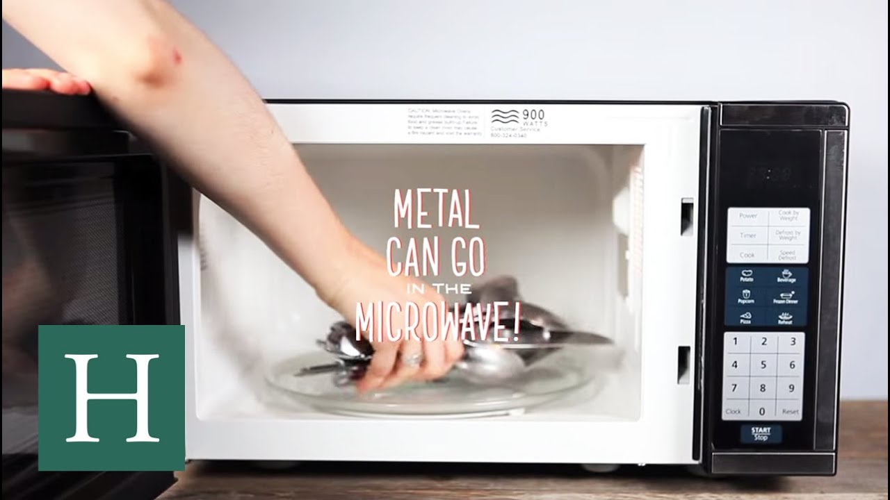 & Whatu0027s The Deal With Metal In The Microwave? - YouTube