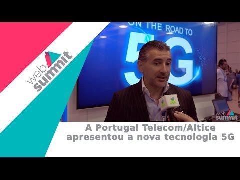 Portugal Telecom 5G - web summit