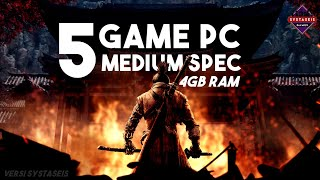 Gambar cover 5 Game PC Adventure  - MID SPEK (Ram 4GB)