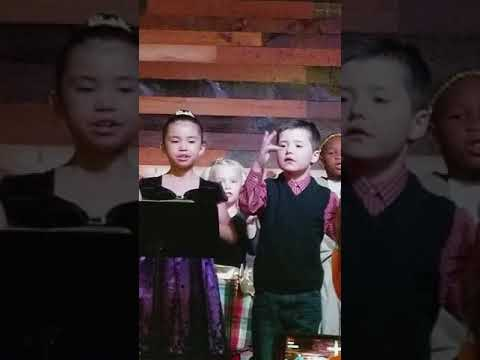Wasatch Christian Early Learning Center Christmas program 2018
