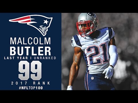 #99: Malcolm Butler (CB, Patriots) | Top 100 Players of 2017 | NFL