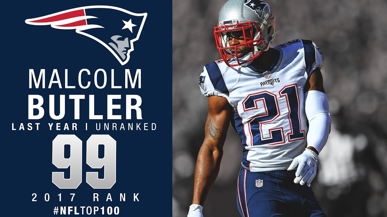 99 Malcolm Butler CB Patriots Top 100 Players of 2017