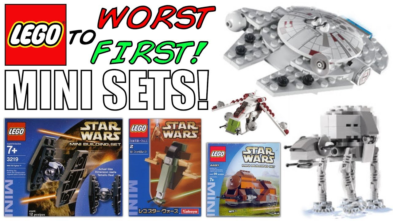 LEGO Worst To First | ALL LEGO Star Wars MINI Sets!