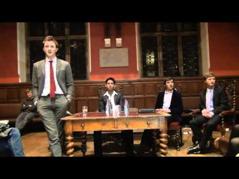 Francis Boulle speaks to the Oxford Guild