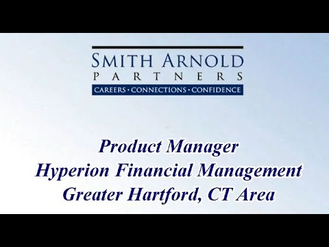Product Manager - Hyperion Financial Management (CLOSED) | Smith Arnold Partners