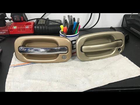 How To Remove A 2002 Chevy Silverado Door Panel Youtube