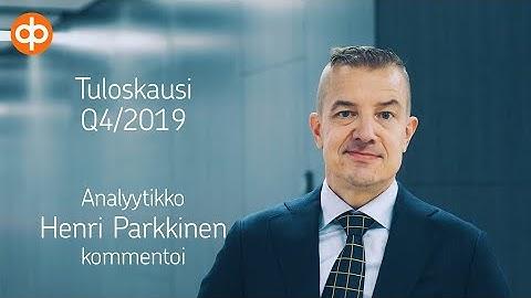 Lassila&Tikanoja Q4-tulos 29.1.2020