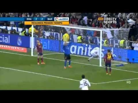Real Madrid 2 - 1 Barcelona por La Liga Española
