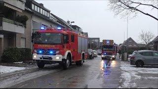 [Gas Einsatz in Nievenheim] Gasgeruch | Feuerwehr Dormagen | GW-Mess