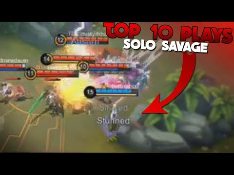 1v5 Savage + Double Savage! TOP 10 Plays Mobile Legends
