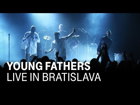 """YOUNG FATHERS """"SHAME"""" Live In Bratislava"""