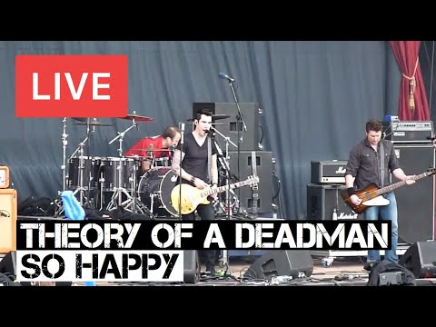 Theory of a Deadman - So Happy Live in [HD] @ Download Festival 2012 mp3