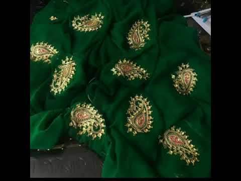 Gotta Patti traditional Indian sarees | lehenga choli