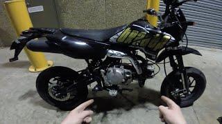 daytona anima 190cc in a street legal pitbike