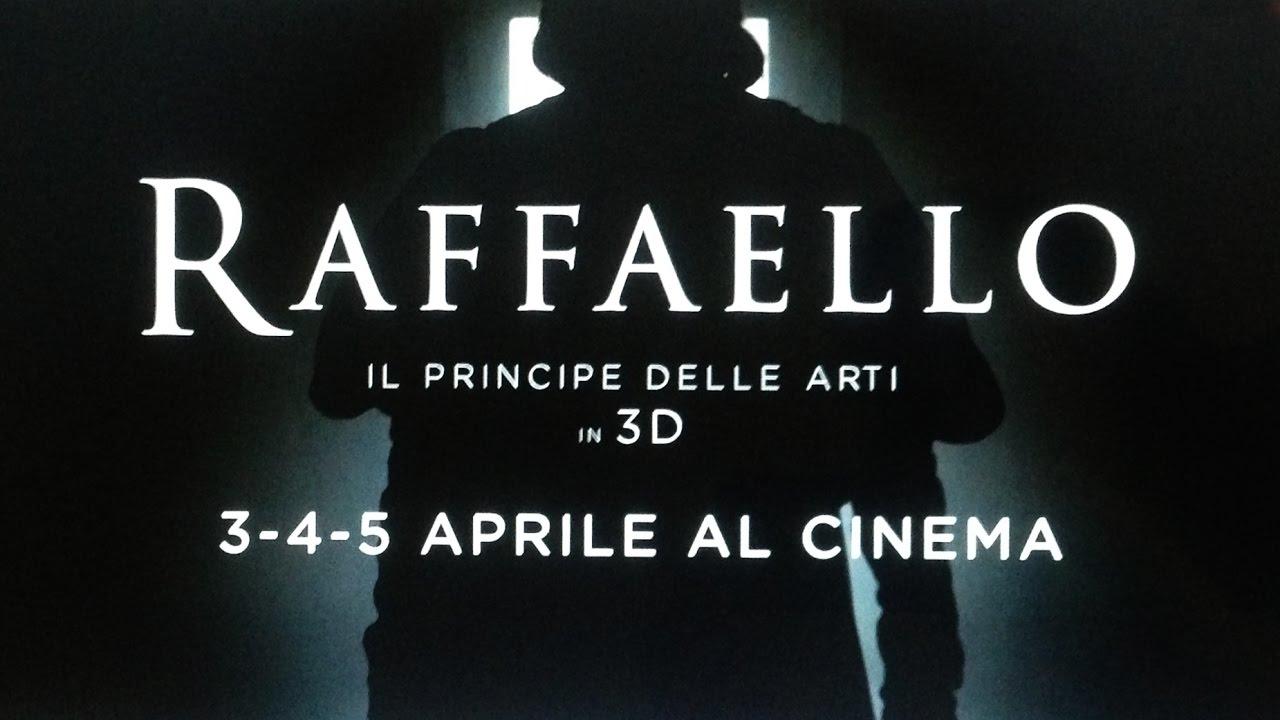 RAFFAELLO - IL PRINCIPE DELLE ARTI IN 3D - Al cinema il 3-4-5
