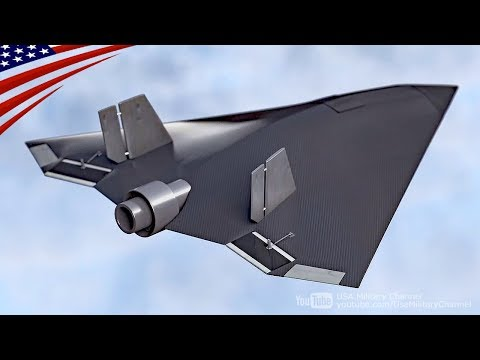 Stealth UAV (Prototype) with New Technology of Less Visible to Radar