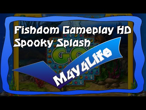 Gameplay Fishdom Spooky Splash HD
