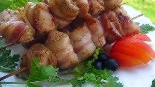Сувлаки - шашлычки по-гречески. Греческая кухня